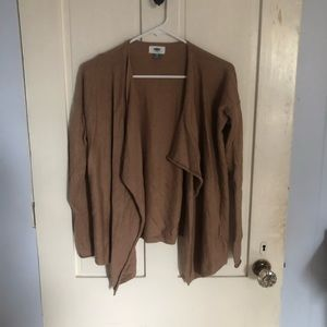 51d649eb7ae9a Old Navy. Brown/tan lightweight cardigan